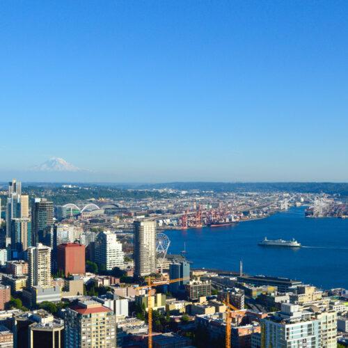 <center>アメリカ(シアトル) – シアトル観光ならココで決まり!1日観光ガイド〜後半〜 <br><small>AMERICA – Seattle 1Day Guide②</small></center>