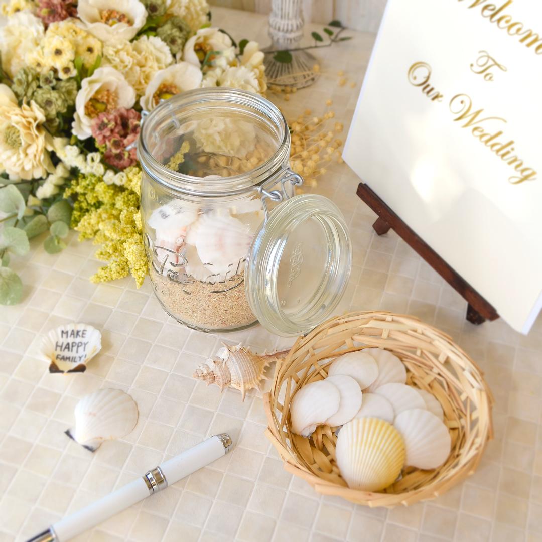 飾れるゲストブック♡ウエディング ウィッシュジャーを手作りしよう! <br><small>DIY Wedding Wish Jar</small>