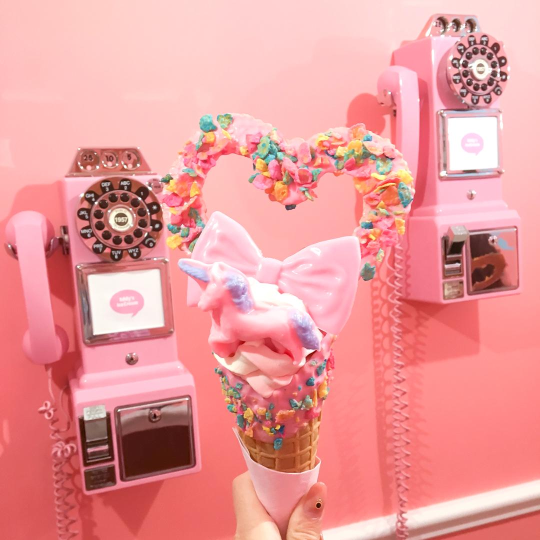 原宿エディーズアイスクリームレポート <br><small>Harajuku Eddy's IceCream</small>