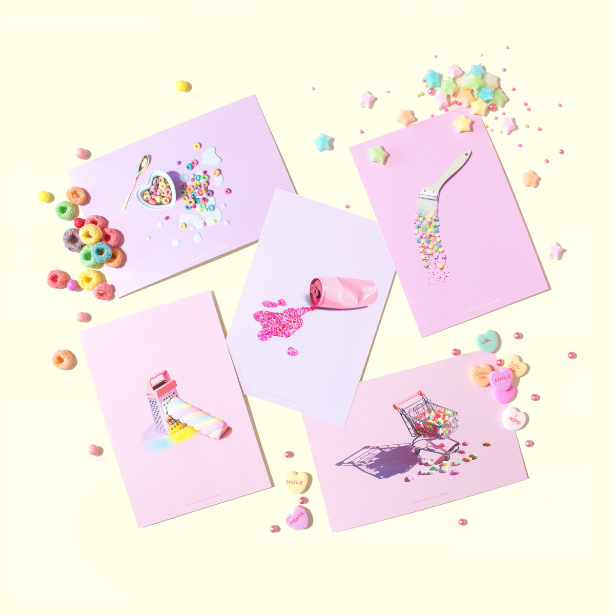 """<center>渋谷109 プリショップ""""モレルミニョン""""にてオフィシャルグッズが発売開始! <br><small>moreru mignon Official Goods</small></center>"""