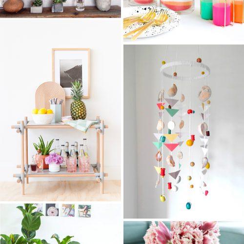 週末DIY「夏インテリア」におすすめの DIY 6選 <br><small>Weekend DIY – Summer Interior</small>