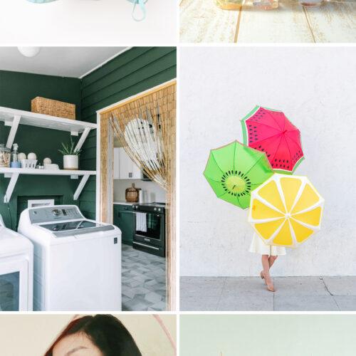 <center>週末DIY「梅雨シーズン」におすすめの DIY 6選 <br><small>Weekend DIY – Rainy Season</small></center>