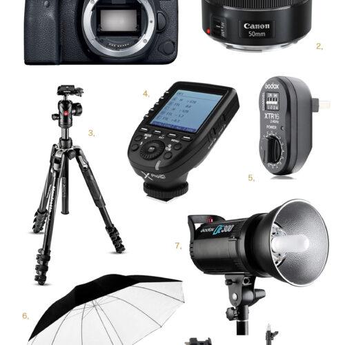 <center>ブログ撮影&仕事に愛用中!おすすめカメラギア10アイテムを大公開!<br><small>Camera Gear Reveal</small></center>