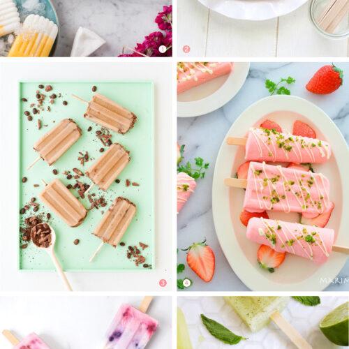 <center>週末DIY「アイスキャンディー」のおすすめレシピ 6選 <br><small>Weekend DIY – Summer Popsicle</small></center>