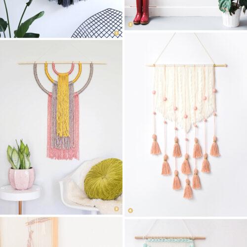 週末DIY「ウォールハンギング」のおすすめDIY 6選 <br><small>Weekend DIY – Wall Hanging</small>