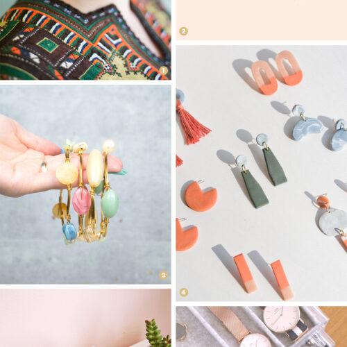 <center>週末DIY「ハンドメイドアクセサリー&収納」のおすすめDIY 6選 <br><small>Weekend DIY – Jewelry & Box</small></center>