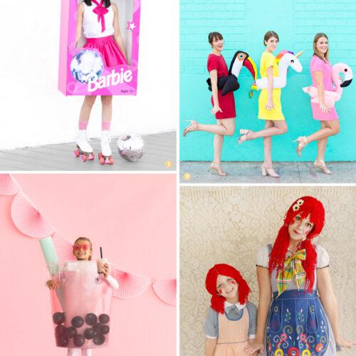 <center>ハロウィン「手作り仮装コスチューム」DIY 8選!赤ちゃん〜ファミリーまで、今年の衣装はどれ作る? <br><small>Haloween Costume for All ages</small></center>