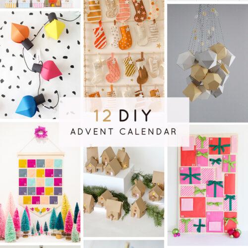クリスマス「手作りアドベントカレンダー 12選」家族で楽しくカウントダウン♪<br><small>12 DIY ADVENT CALENDER </small>